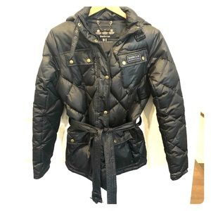 Barbour Goose Down Waxed Jacket